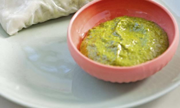 Quinoa-Bärlauch-Röllchen