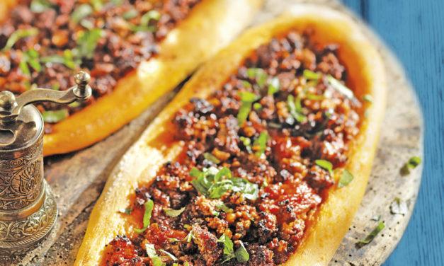 Lahmacun – Türkische Pizza