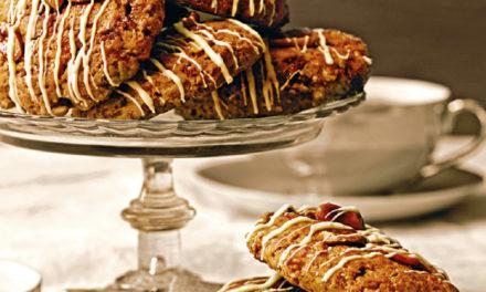 Bananen- Erdnuss- Cookies