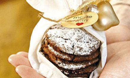 Superweiche Schokoladen- Cookies