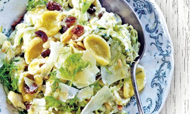 Orecchiette mit Fenchel und Zucchini