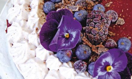 Acai-Beeren-Schokoladen-Torte