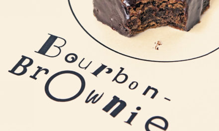 Bourbon-Brownie Petit-Fours