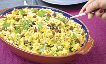 Feta-Couscous-Salat