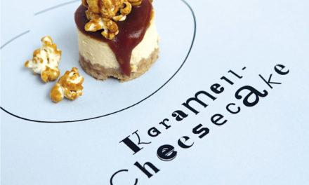 Karamell Cheesecake Petit Fours