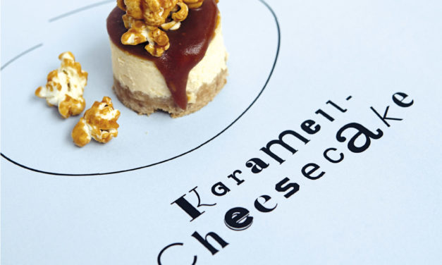Karamell Cheesecake Petit Fours