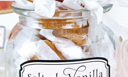Salted Vanilla Caramels