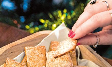 Ingwer-Zwieback–Kekse