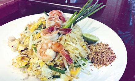 Pad Thai – Thai-Nudeln mit Garnelen