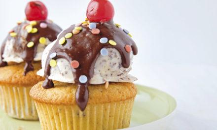 Stracciatella Cupcakes