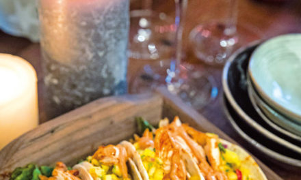 Tacos mit BBQ-Chicken & Mangosalsa