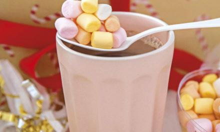 Kakaomischung mit Mini-Marshmallows