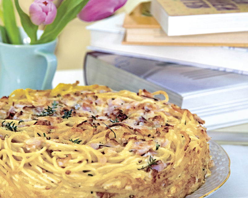 Carbonara-Kuchen