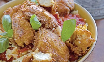 Chicken Piccata Milanese