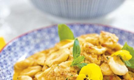 5-Minuten-Paprika-Thunfischsauce mit Orecchiette