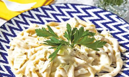 4-Käse-Sauce mit Stronzo