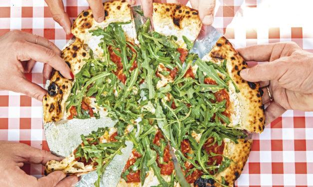 Pizza Bianco Piccante