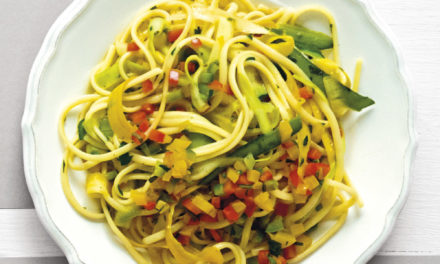 Linguine mit Zucchini